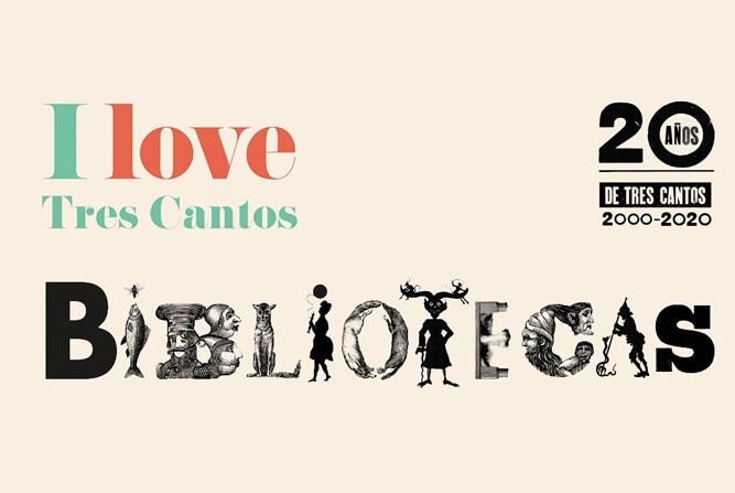 Animación motion grafics para felicitar el 20 niversario de la Biblioteca de Tres Cantos