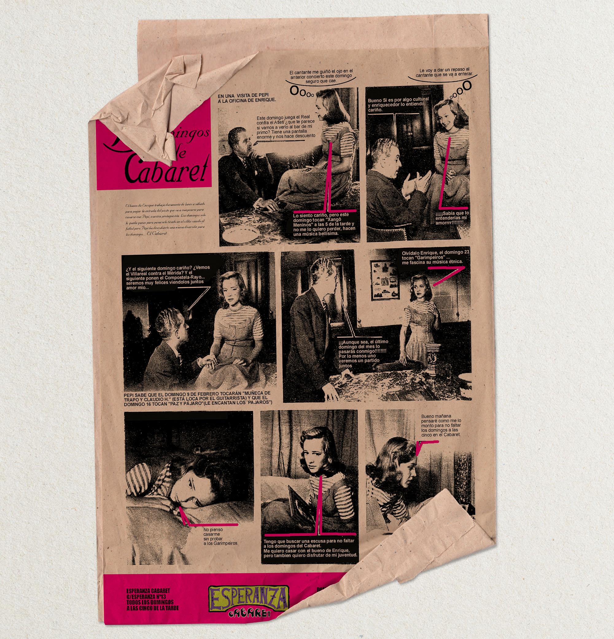 cartel conciertos diseño corporativo susana cid