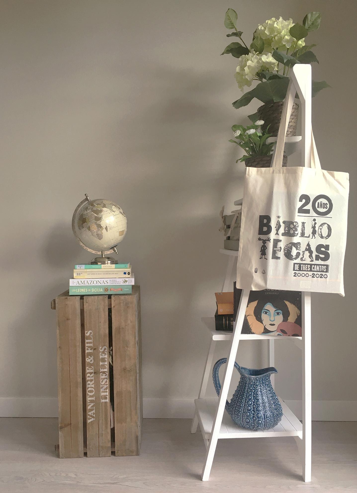 Diseño corporativo Biblioteca Lope de Vega tote bag