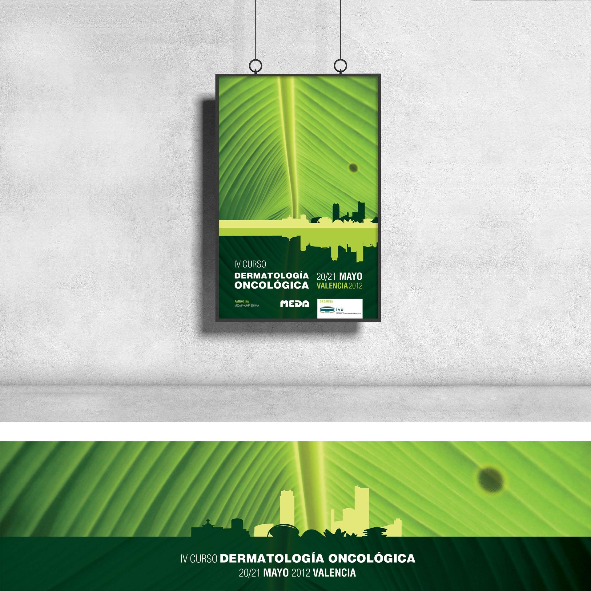 diseño corporativo cartel dermatologia oncologia susana cid